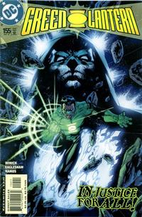 Cover Thumbnail for Green Lantern (DC, 1990 series) #155