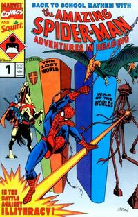 Cover Thumbnail for Adventures in Reading Starring the Amazing Spider-Man (Marvel, 1990 series) #1 [Special Edition]