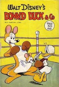 Cover Thumbnail for Donald Duck & Co (Hjemmet / Egmont, 1948 series) #3/1949