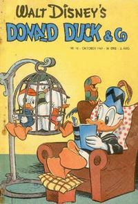 Cover Thumbnail for Donald Duck & Co (Hjemmet / Egmont, 1948 series) #10/1949
