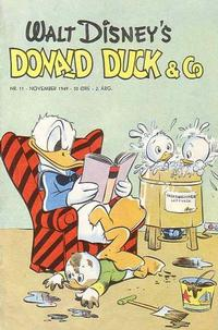 Cover Thumbnail for Donald Duck & Co (Hjemmet / Egmont, 1948 series) #11/1949