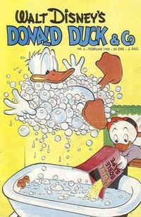 Cover Thumbnail for Donald Duck & Co (Hjemmet / Egmont, 1948 series) #2/1950