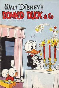 Cover Thumbnail for Donald Duck & Co (Hjemmet / Egmont, 1948 series) #1/1952