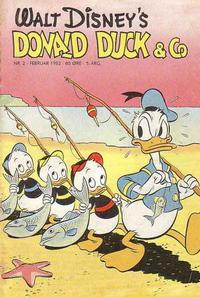 Cover Thumbnail for Donald Duck & Co (Hjemmet / Egmont, 1948 series) #2/1952