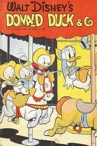 Cover Thumbnail for Donald Duck & Co (Hjemmet / Egmont, 1948 series) #3/1952