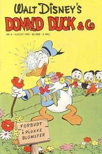 Cover Thumbnail for Donald Duck & Co (Hjemmet / Egmont, 1948 series) #8/1952