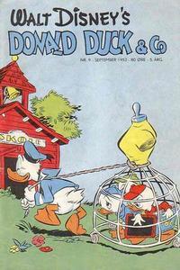 Cover Thumbnail for Donald Duck & Co (Hjemmet / Egmont, 1948 series) #9/1952