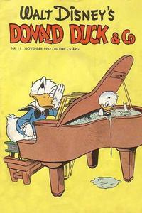 Cover Thumbnail for Donald Duck & Co (Hjemmet / Egmont, 1948 series) #11/1952