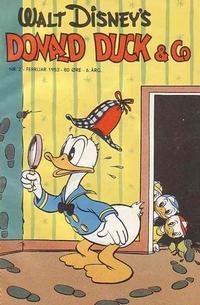 Cover Thumbnail for Donald Duck & Co (Hjemmet / Egmont, 1948 series) #2/1953