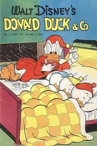 Cover Thumbnail for Donald Duck & Co (Hjemmet / Egmont, 1948 series) #3/1953