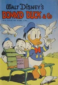 Cover Thumbnail for Donald Duck & Co (Hjemmet / Egmont, 1948 series) #8/1953