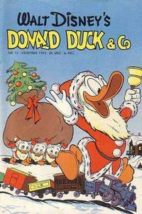 Cover Thumbnail for Donald Duck & Co (Hjemmet / Egmont, 1948 series) #12/1953