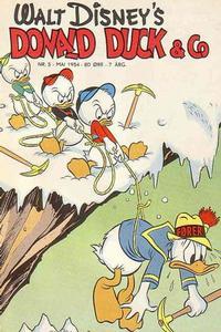 Cover Thumbnail for Donald Duck & Co (Hjemmet / Egmont, 1948 series) #5/1954