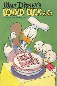 Cover Thumbnail for Donald Duck & Co (Hjemmet / Egmont, 1948 series) #6/1954