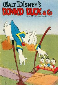 Cover Thumbnail for Donald Duck & Co (Hjemmet / Egmont, 1948 series) #10/1954