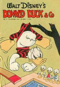 Cover Thumbnail for Donald Duck & Co (Hjemmet / Egmont, 1948 series) #11/1954
