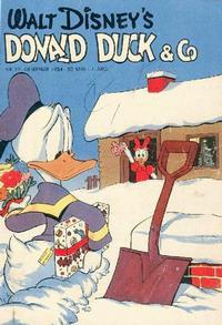 Cover Thumbnail for Donald Duck & Co (Hjemmet / Egmont, 1948 series) #12/1954