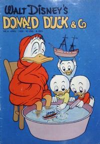 Cover Thumbnail for Donald Duck & Co (Hjemmet / Egmont, 1948 series) #4/1955