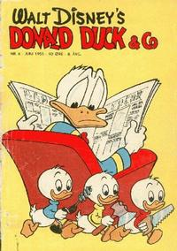 Cover Thumbnail for Donald Duck & Co (Hjemmet / Egmont, 1948 series) #6/1955