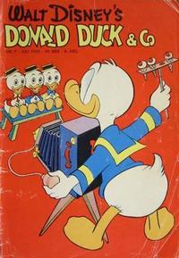 Cover Thumbnail for Donald Duck & Co (Hjemmet / Egmont, 1948 series) #7/1955