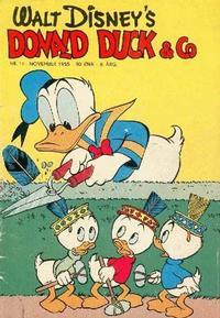 Cover Thumbnail for Donald Duck & Co (Hjemmet / Egmont, 1948 series) #11/1955