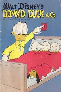 Cover Thumbnail for Donald Duck & Co (Hjemmet / Egmont, 1948 series) #1/1956