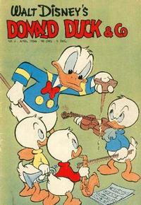 Cover Thumbnail for Donald Duck & Co (Hjemmet / Egmont, 1948 series) #4/1956