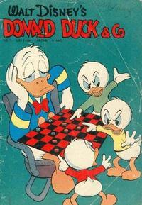 Cover Thumbnail for Donald Duck & Co (Hjemmet / Egmont, 1948 series) #7/1956