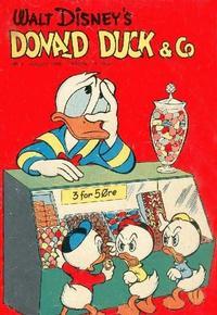 Cover Thumbnail for Donald Duck & Co (Hjemmet / Egmont, 1948 series) #8/1956