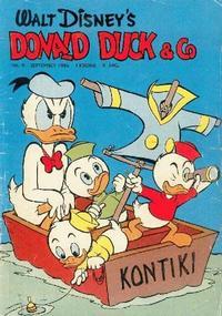 Cover Thumbnail for Donald Duck & Co (Hjemmet / Egmont, 1948 series) #9/1956