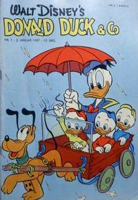 Cover Thumbnail for Donald Duck & Co (Hjemmet / Egmont, 1948 series) #1/1957