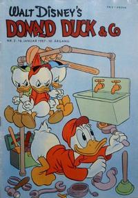 Cover Thumbnail for Donald Duck & Co (Hjemmet / Egmont, 1948 series) #2/1957