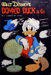 Cover Thumbnail for Donald Duck & Co (Hjemmet / Egmont, 1948 series) #4/1957