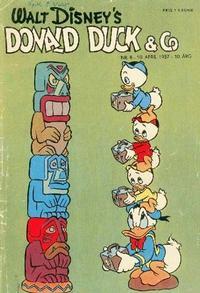 Cover Thumbnail for Donald Duck & Co (Hjemmet / Egmont, 1948 series) #8/1957