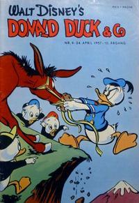 Cover Thumbnail for Donald Duck & Co (Hjemmet / Egmont, 1948 series) #9/1957