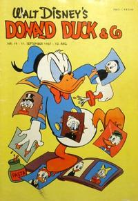 Cover Thumbnail for Donald Duck & Co (Hjemmet / Egmont, 1948 series) #19/1957
