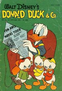 Cover Thumbnail for Donald Duck & Co (Hjemmet / Egmont, 1948 series) #22/1957