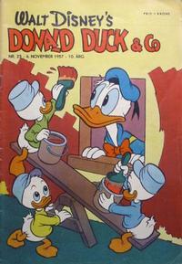 Cover Thumbnail for Donald Duck & Co (Hjemmet / Egmont, 1948 series) #23/1957
