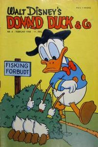 Cover Thumbnail for Donald Duck & Co (Hjemmet / Egmont, 1948 series) #4/1958