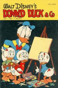 Cover Thumbnail for Donald Duck & Co (Hjemmet / Egmont, 1948 series) #7/1958