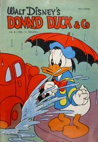 Cover Thumbnail for Donald Duck & Co (Hjemmet / Egmont, 1948 series) #8/1958