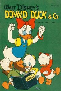 Cover Thumbnail for Donald Duck & Co (Hjemmet / Egmont, 1948 series) #10/1958