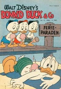 Cover Thumbnail for Donald Duck & Co (Hjemmet / Egmont, 1948 series) #13/1958