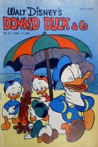 Cover Thumbnail for Donald Duck & Co (Hjemmet / Egmont, 1948 series) #15/1958