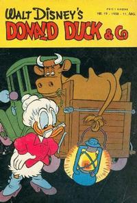 Cover Thumbnail for Donald Duck & Co (Hjemmet / Egmont, 1948 series) #19/1958