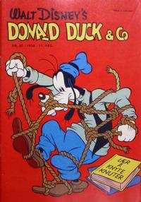 Cover Thumbnail for Donald Duck & Co (Hjemmet / Egmont, 1948 series) #20/1958