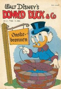 Cover Thumbnail for Donald Duck & Co (Hjemmet / Egmont, 1948 series) #21/1958