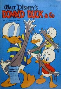 Cover Thumbnail for Donald Duck & Co (Hjemmet / Egmont, 1948 series) #22/1958
