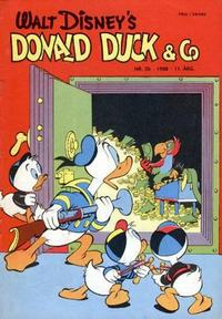 Cover Thumbnail for Donald Duck & Co (Hjemmet / Egmont, 1948 series) #26/1958
