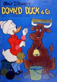 Cover Thumbnail for Donald Duck & Co (Hjemmet / Egmont, 1948 series) #35/1958